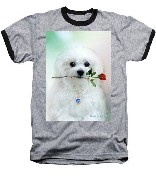 Hermes And Rose Baseball T-Shirt