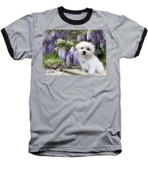 Hermes And Wisteria Baseball T-Shirt