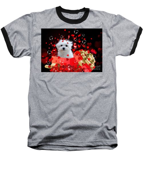 Hermes The Valentine Boy Baseball T-Shirt