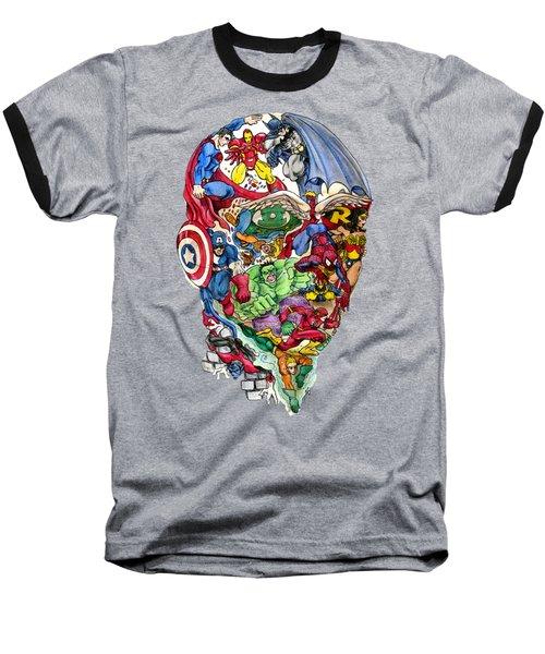 Heroic Mind Baseball T-Shirt