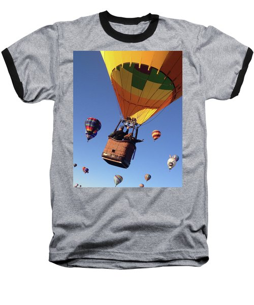 Hi From Up High Baseball T-Shirt