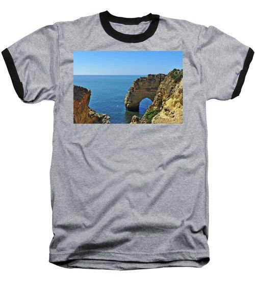 Hidden Arch In Marinha Beach Baseball T-Shirt