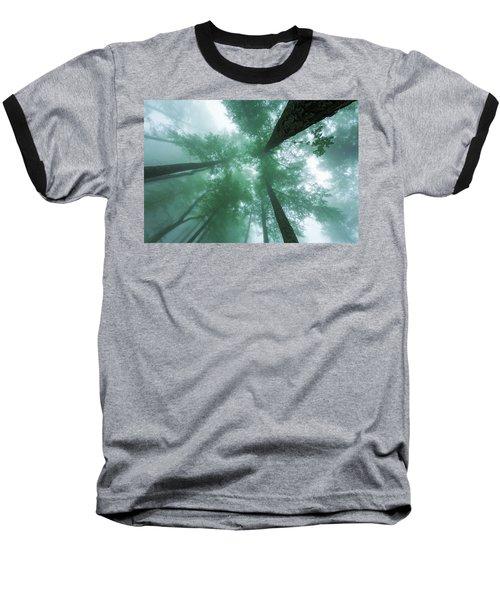 High In The Mist Baseball T-Shirt