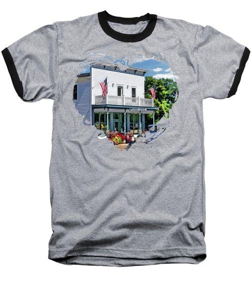 Historic Pioneer Store In Ellison Bay Door County Baseball T-Shirt