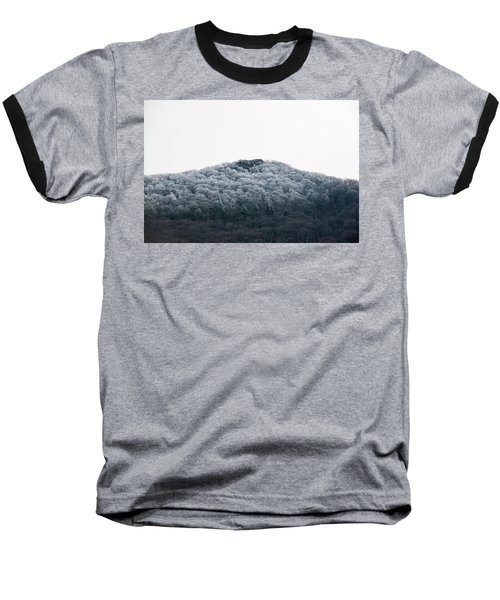 Hoarfrost On The Mountain Baseball T-Shirt