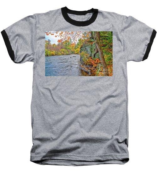 Hogback Dam Pool Baseball T-Shirt