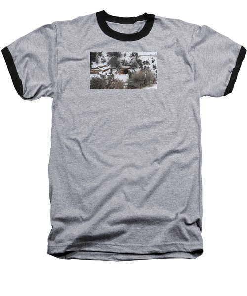 Hole In The Wall Baseball T-Shirt