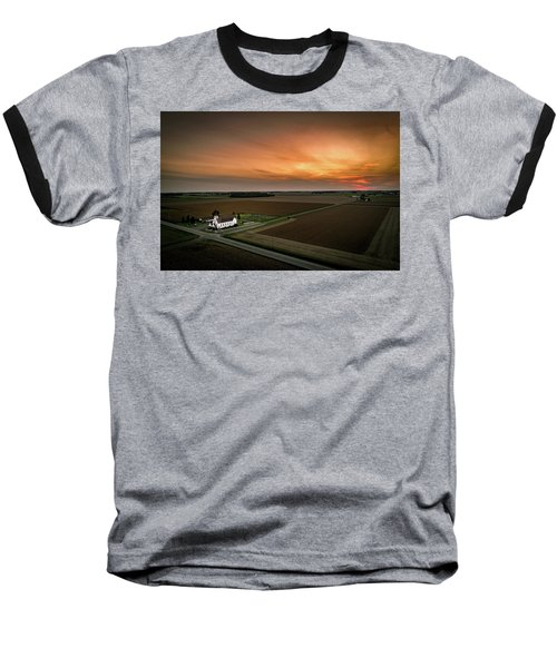 Holy Sunset Baseball T-Shirt