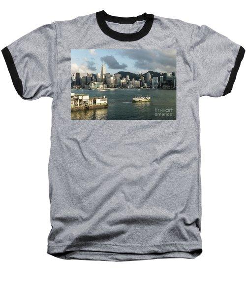 Hong Kong Star Baseball T-Shirt