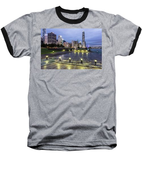 Hong Kong Twilight Baseball T-Shirt
