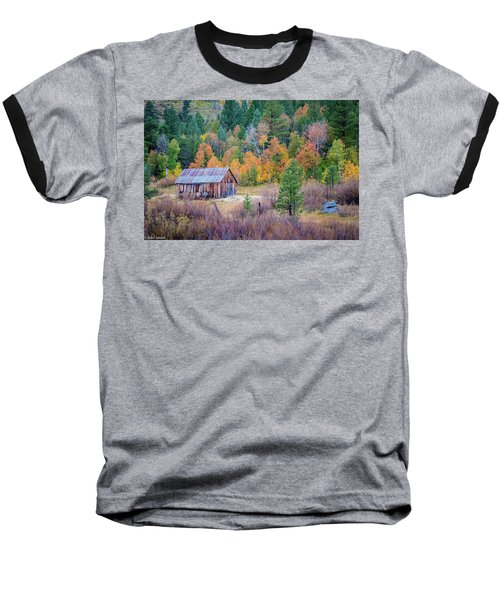Hope Valley Cabin Baseball T-Shirt