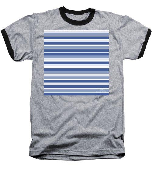 Horizontal Lines Background - Dde607 Baseball T-Shirt