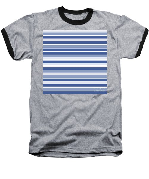 Horizontal Lines Background - Dde607 Baseball T-Shirt
