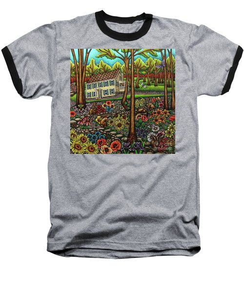 House In The Meadow  Baseball T-Shirt