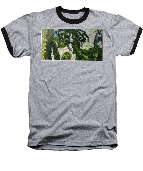 Humanity Waits Baseball T-Shirt