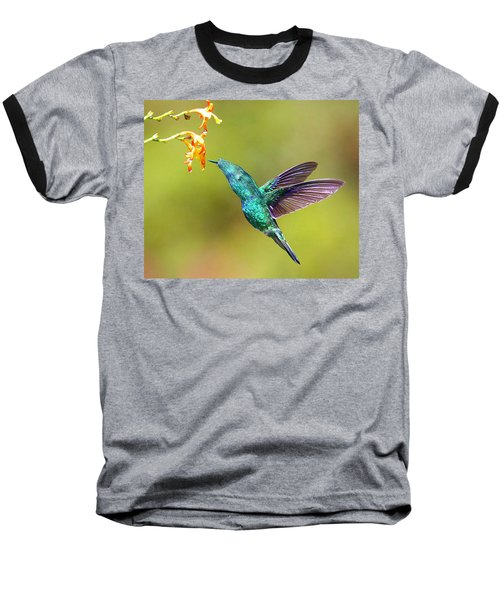 Humhum Bird Baseball T-Shirt