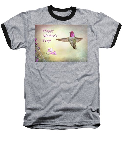 Hummer-happy Mother's Day Baseball T-Shirt