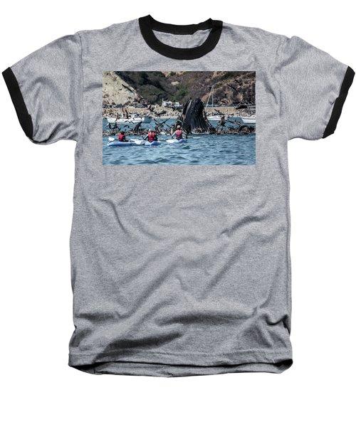 Humpbacks In Avila Harbor Baseball T-Shirt
