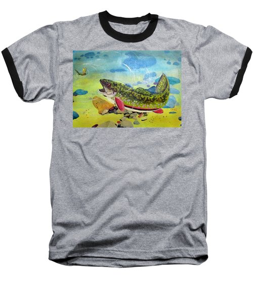 Hungry Trout Baseball T-Shirt