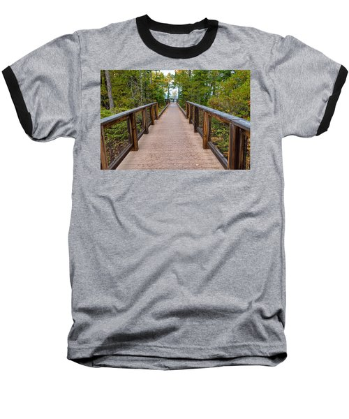 Hunter's Point At Copper Harbor Baseball T-Shirt