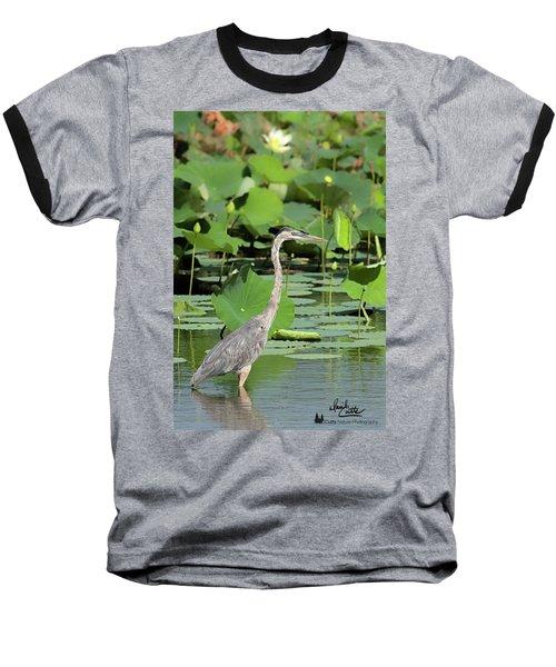 Hunting Among The Lotus Baseball T-Shirt