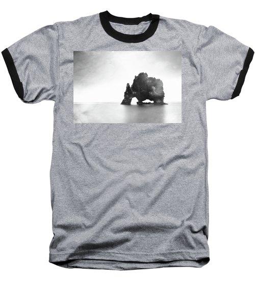 Hvitserkur In The Mist Baseball T-Shirt