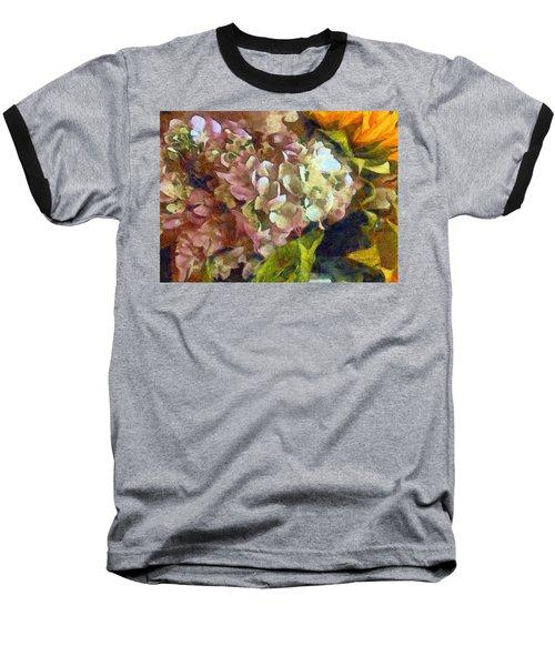 Hydrangea Love Baseball T-Shirt