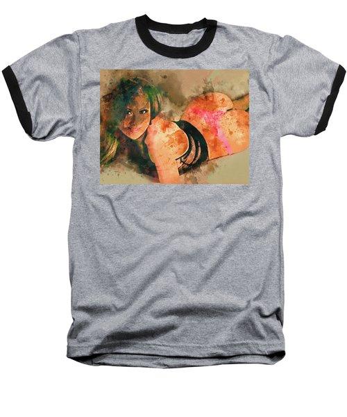 I C U Baseball T-Shirt
