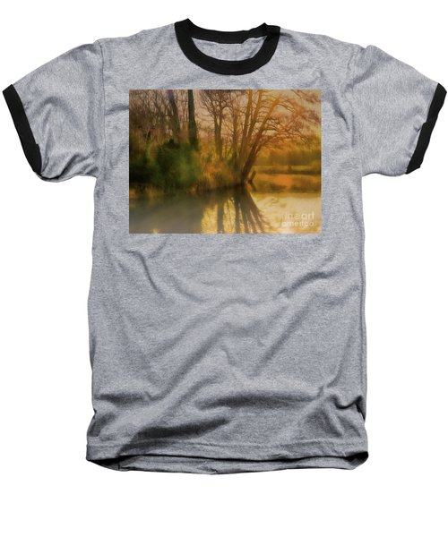 Baseball T-Shirt featuring the photograph I Did It My Wey by Leigh Kemp