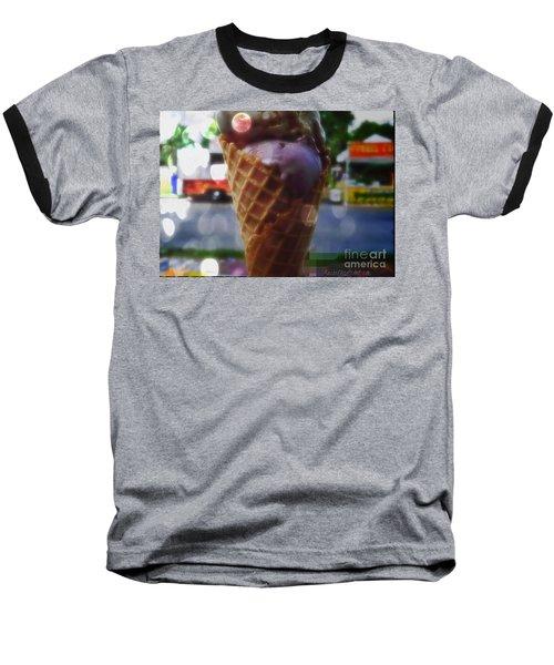Icecream Dreams Baseball T-Shirt