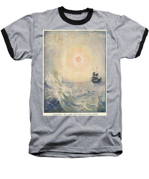 The Little Mermaid, Illustration From  Baseball T-Shirt