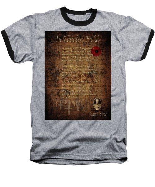 In Flanders Fields 2 Baseball T-Shirt
