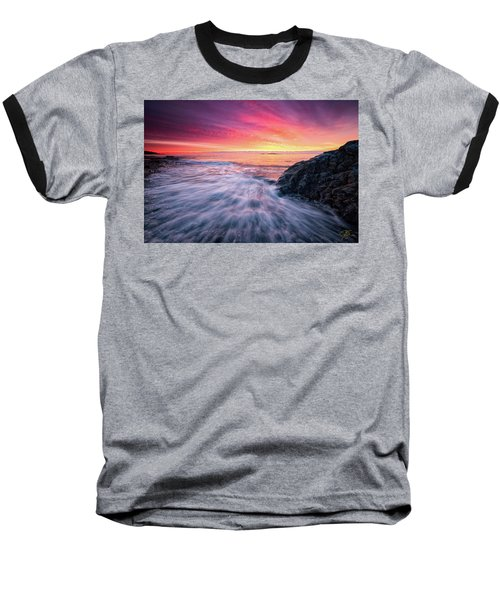 In The Beginning There Was Light Baseball T-Shirt