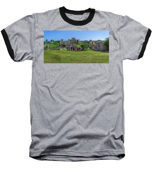 In The Footsteps Of The Maya Baseball T-Shirt