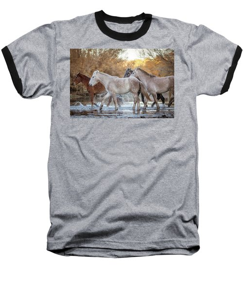 In The River Baseball T-Shirt