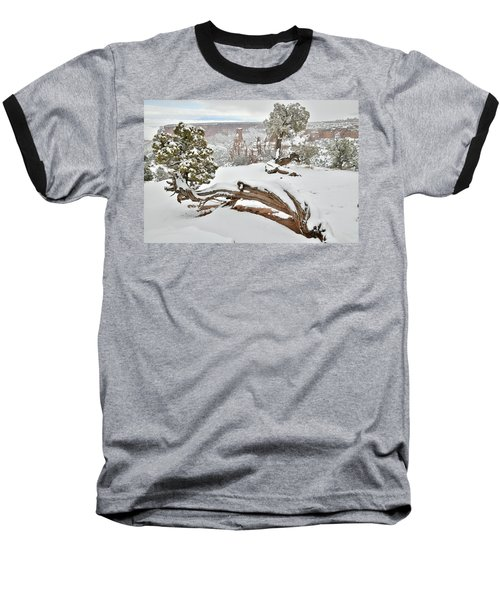Independence Canyon Of Colorado National Monument Baseball T-Shirt
