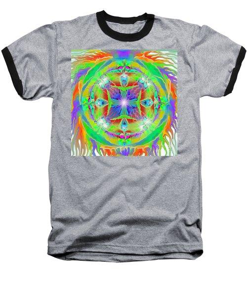 Indian Mandala Baseball T-Shirt