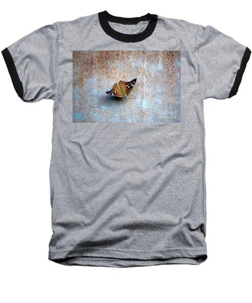 Industrious Butterfly Baseball T-Shirt
