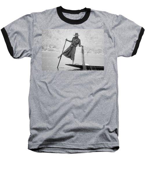 Inle Lake Fisherman Byw Baseball T-Shirt