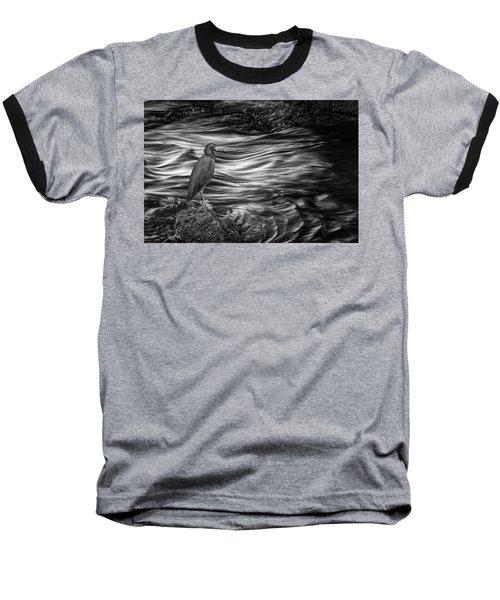 Inlet Heron 2 Baseball T-Shirt