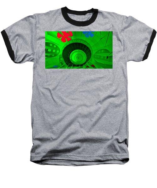 Inside The Green Balloon Baseball T-Shirt