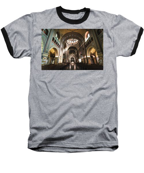 Interior Of The Votive Cathedral, Szeged, Hungary Baseball T-Shirt