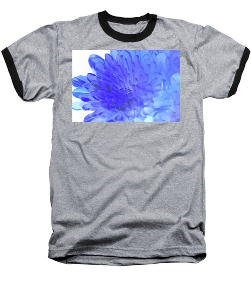 Inverted Flower Baseball T-Shirt