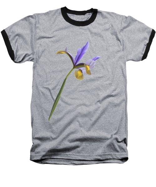 Iris On A Transparent Background Baseball T-Shirt