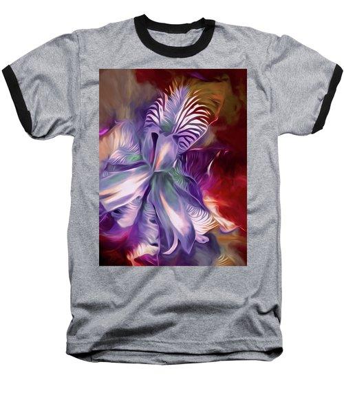 Iris Splendor 12 Baseball T-Shirt