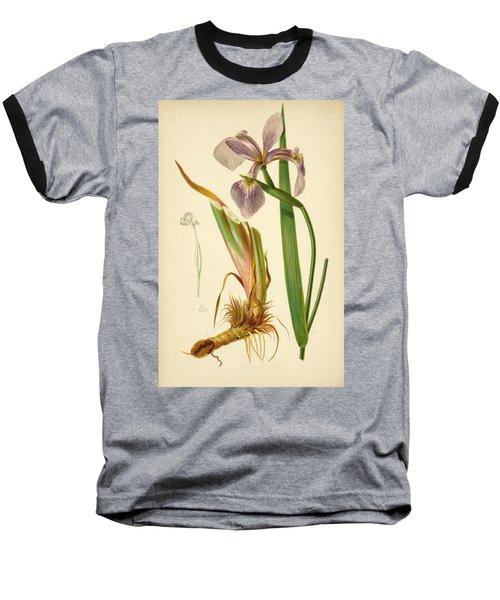 Iris Versicolor Blue Flag Baseball T-Shirt