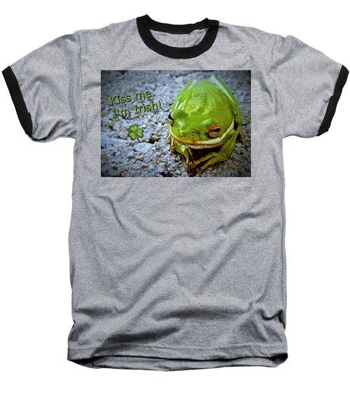 Irish Frog Baseball T-Shirt