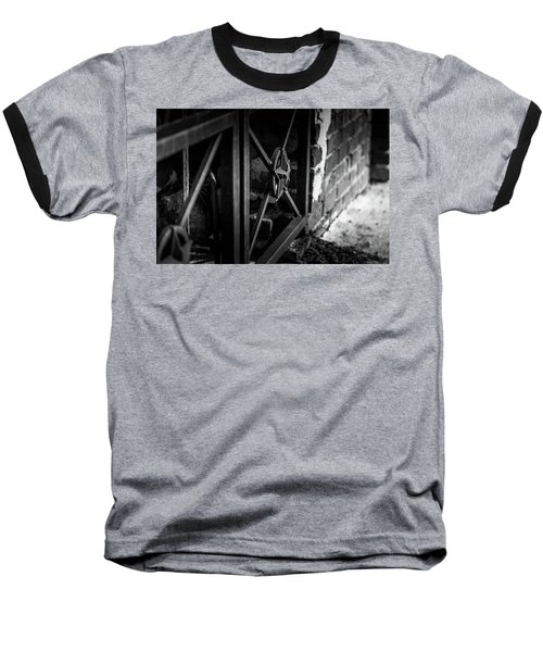 Iron Gate In Bw Baseball T-Shirt