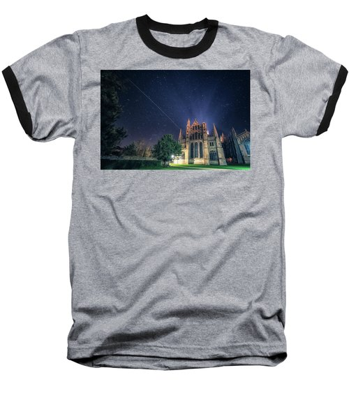 Iss Over Ely Cathedral Baseball T-Shirt
