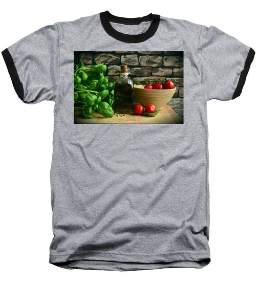 Italian Ingredients Baseball T-Shirt